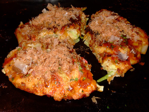 Okonomiyaki Mochi Cheese