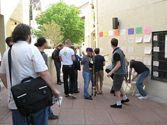Building the schedule at RecentChangesCamp 2008