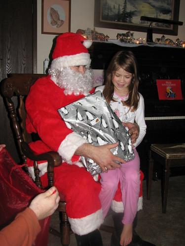 Elizabeth & Santa
