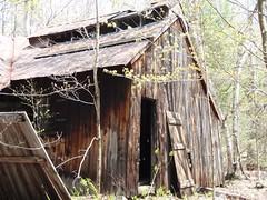 Abandoned sugar house