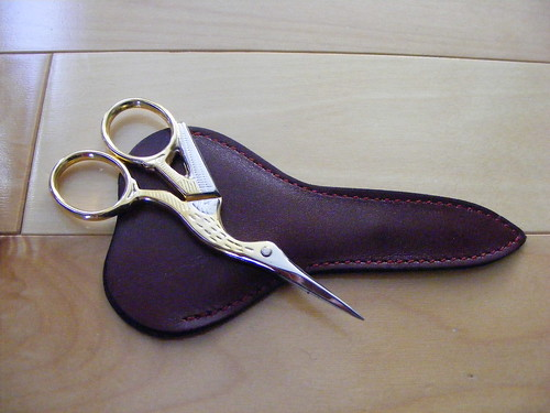 Knitting scissors