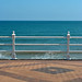 Paving waves railings sea