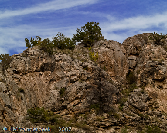 Not Red Rocks in the Jemez