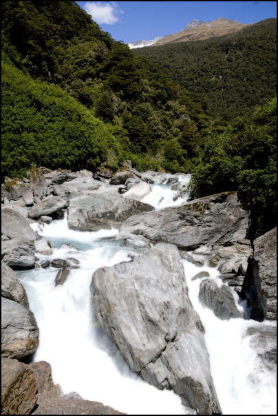 Gates of Haast, Mount Aspiring National Park, New Zealand