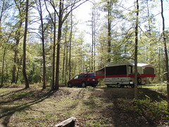 campsite at Oconee National Forest
