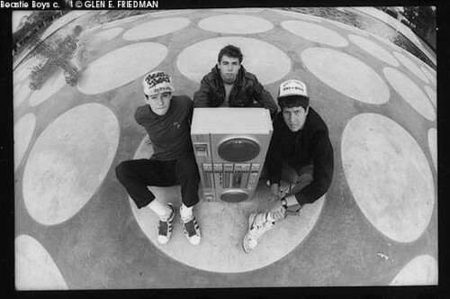 Beastie Boys KXLU Glen E. Friedman