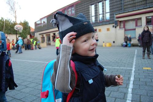 1ste schooldag voor Rune