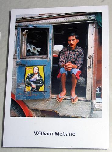 A boy on Lorry by William Mebane