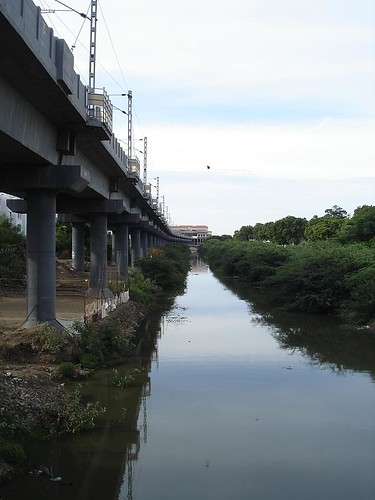 a portion of the chennai mrts