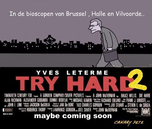 Yves Leterme fake filmaffiche