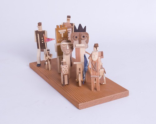 Wooden Figures from Opa