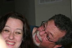 12.8.07 Gobblemas - Heather and Dad