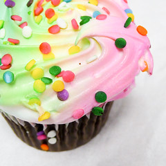 Cupcake, by Flickr user bookgrl