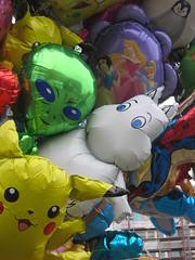 A moomin balloon