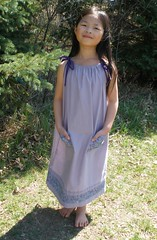 Olivia in the Pillowcase Dress for Little Dresses for Africa