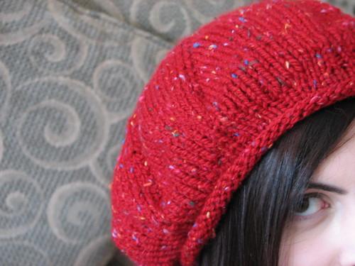 Red Beret Emily Dec 2007
