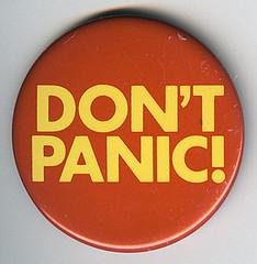 Don't Panic Badge
