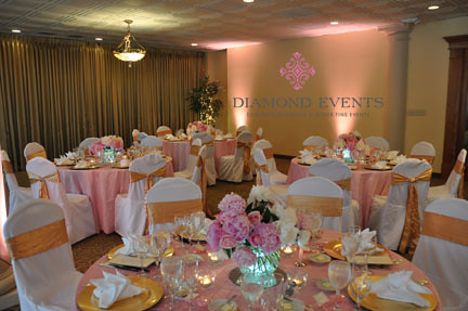 Wedding reception at Harbour View in Woodbridge, Virginia