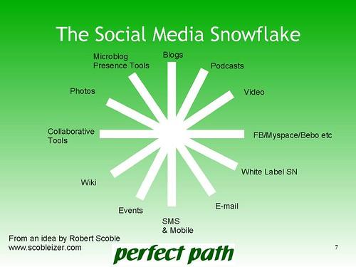 Social Media Snowflake