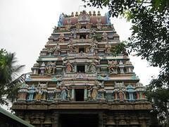 Rajagopuram from outside