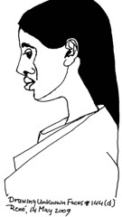 Drawing Unknown Faces, part 144 (d)
