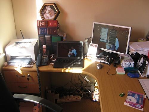 Office rearranged