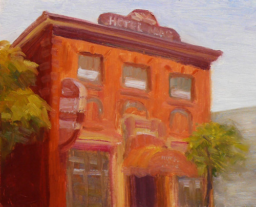 Hotel Mac, Pt. Richmond, Oil