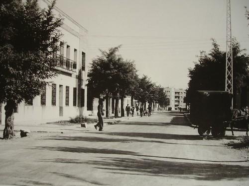 Calle Daoiz y Velarde desde el Parque O'Donell