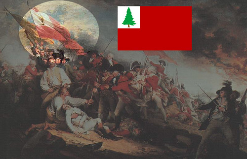 The Continental Flag at Bunker Hill