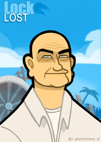 caricaturaLock_lost