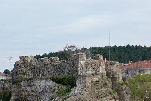 Riva castle in Riva village, blacksea region of Istanbul, pentax k10d