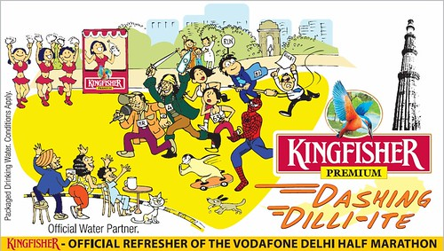 Official Refresher of Vodafone Delhi Half Marathon