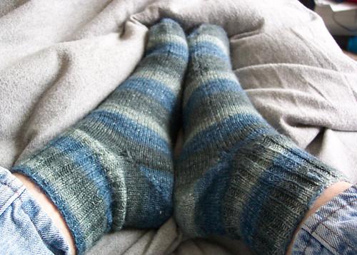 fo toe up sock dye anomaly