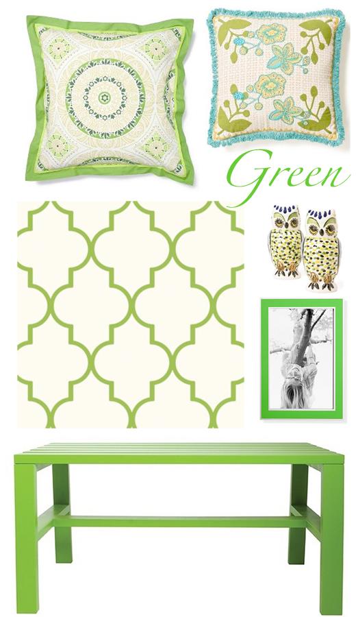 Color Me Monday: Grassy Green