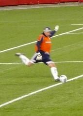 Matt Reis gets his kicks