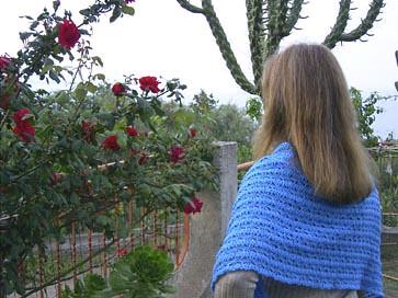 Sweet memories shawl - very pretty!
