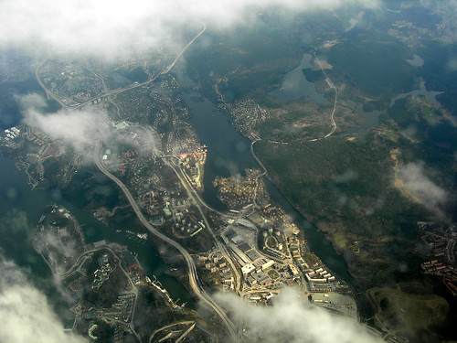 Stockholm Archipelago from the Air 2