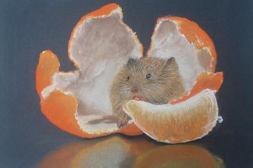 秀珠_藏在剝皮橘��的小老鼠1