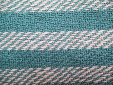 Sampler close up, twill