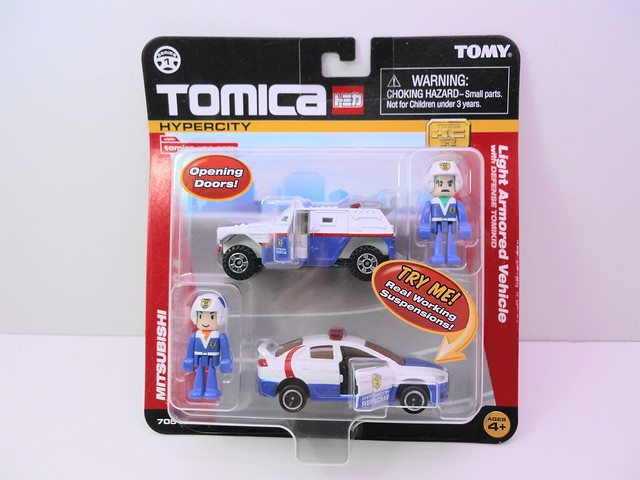 tomy tomica emergency police 2 car set (1)