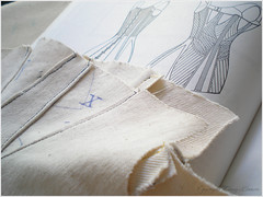 late 1820s corset - mock up 03