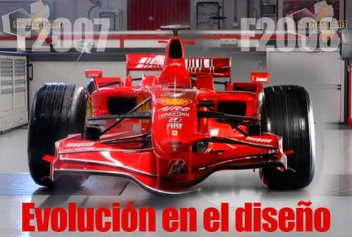 Comparativa F2007/F2008