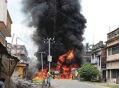 food riots india