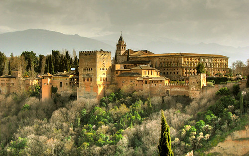 Alhambra - Granda - España by Nino H.