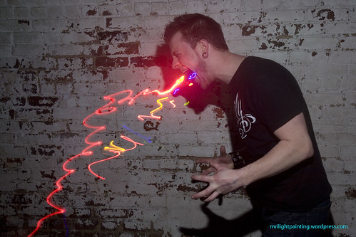 MRI Lightpainting Photo Booth at Flashing Lights 3