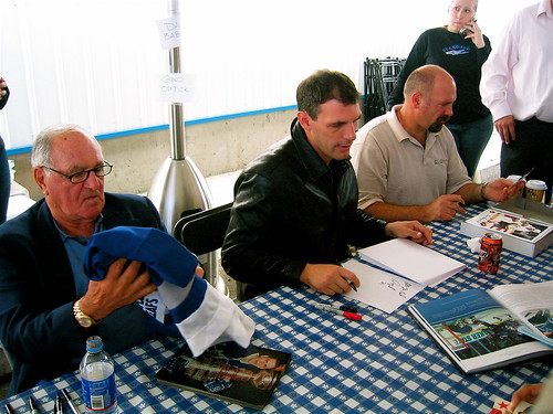 Bobby Baun, Gino Odjick, and Dave Babych