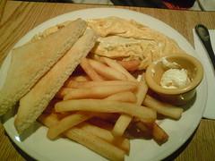 [吃] The Diner (5)_綜合肉蛋捲加墨西哥辣椒