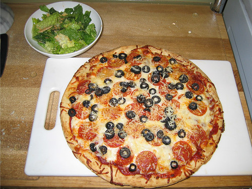 Pizza & Salad
