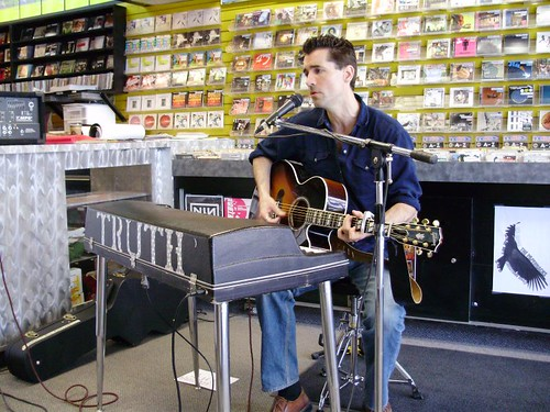 Royal Wood live! in-store performance at Music Trader on May 11 2008