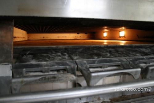 Inside a Forno, Bread oven